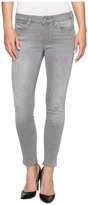 Mavi Jeans Adriana Ankle Mid-Rise Skinny in Light Grey Tribeca