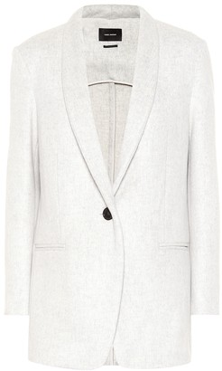Isabel Marant Felicie wool and cashmere blazer