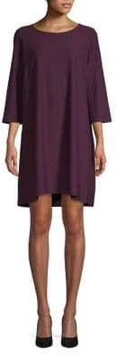 Eileen Fisher Three-Quarter Shift Dress