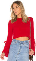 Lovers + Friends x REVOLVE Parkwood Sweater in Red. - size L (also in M,S,XL,XS,XXS)