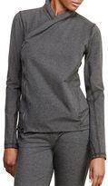 Lauren Ralph Lauren Asymmetrical Zip Jersey Jacket