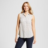 Merona Women's Sleeveless Printed Favorite Shirt