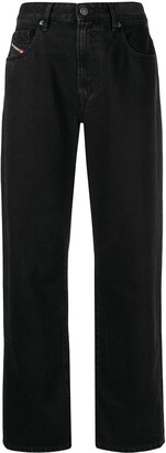 Diesel High-Waisted Cropped Jeans