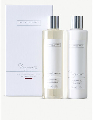 The White Company Pomegranate Bath & Body Gift Set