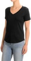 Workshop Republic Clothing Supima® Cotton T-Shirt - V-Neck, Short Sleeve (For Women)