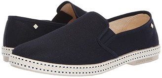 Rivieras Classic 10 Slip-On (Black) Men's Slip on Shoes