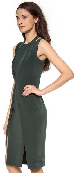 Cushnie et Ochs Sleeveless Crepe Dress