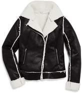 Splendid Girls' Sherpa-Lined Jacket