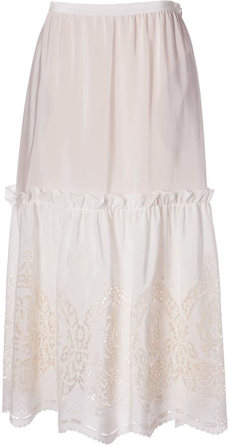 d9d272066 Broderie Anglaise Skirts - ShopStyle
