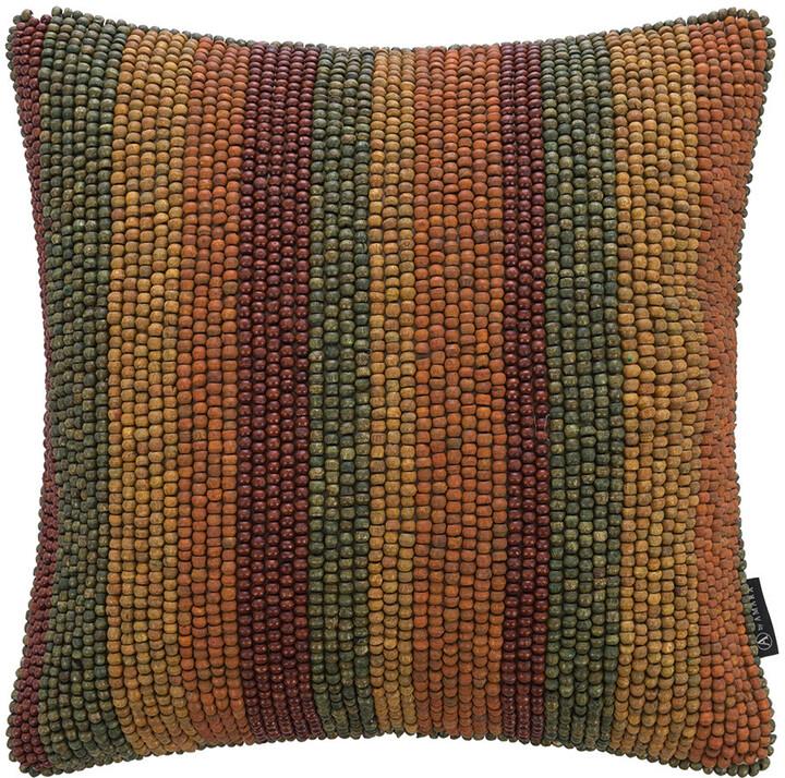 Thumbnail for your product : Global Explorer - Beaded Stripe Cushion - 40x40cm - Multicolour