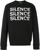 McQ by Alexander McQueen Silence sweatshirt - men - Cotton - XS