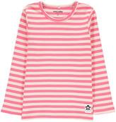 Mini Rodini Striped Organic Cotton T-Shirt