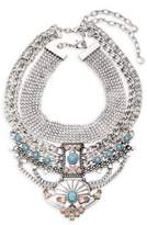 BaubleBar Turquoise Tiered Necklace