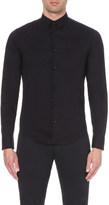 Armani Jeans Slim-fit stretch-cotton shirt
