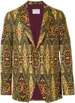 Etro ethnic print blazer