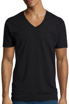 STAFFORD Stafford 3-Pk. Cotton Stretch V-Neck T-Shirts