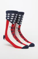 On The Byas 'Merica Crew Socks