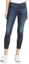 J Brand Mid Rise Skinny Crop Jeans in Dark Innovation
