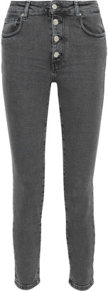 IRO Gaety Faded High-rise Skinny Jeans
