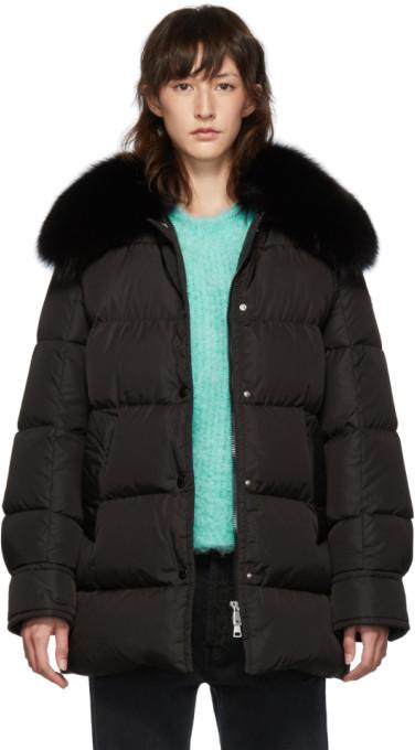 Moncler Black Down Mesange Jacket