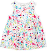 First Impressions Tropical-Print Cotton Babydoll Tunic, Baby Girls (0-24 months), Only at Macy's