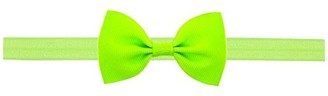 ClodeEU Lovely Baby Kids Girls Mini Bowknot Hairband Elastic Headband Light Green