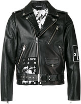 Misbhv Warszawa 1980 biker jacket