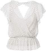 Marissa Webb polka dot blouse