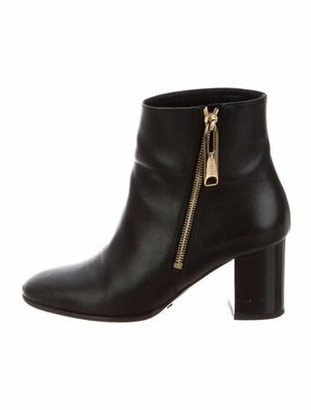 Burberry Girl About Town Allen 70 Leather Boots Black