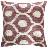 Found Object Ikat Hand-Woven Pillow
