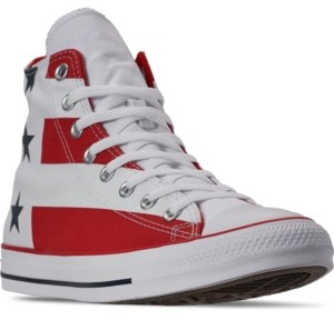 Converse Men's Chuck Taylor All Star Stars and Stripes High Top Casual Sneakers from Finish Line