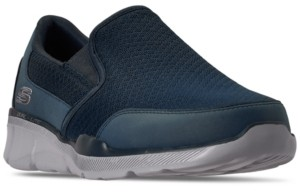 Skechers Men's Relaxed Fit Equalizer 3.0 Bluegate Slip On Extra Wide Width Casual Sneakers from Finish Line