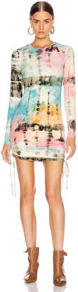 Cotton Citizen Lisbon Shirt Dress in Kaleidoscope Sky | FWRD