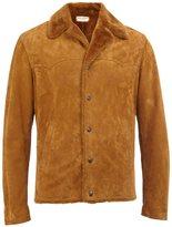 Saint Laurent peaked lapel bomber jacket