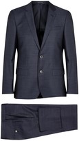 Boss Hutson3/gander1 Navy Wool Suit