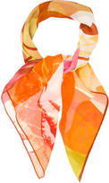 Chanel Silk Mousseline scarf
