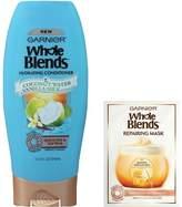 Garnier Whole Blends Hydrating Hair Conditioner & Repairing Mask - 12.5 fl oz