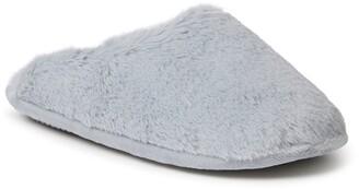 Dearfoams Bailey Faux Fur Slipper