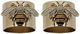 Joanna Buchanan Stripy Bee Napkin Ring - Set of 2