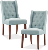 Neya Set of 2 Dining Chairs, Direct Ship