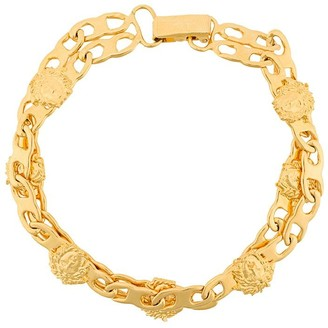 Versace Pre-Owned Medusa double bracelet