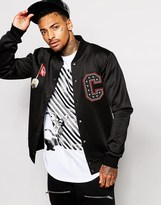 Criminal Damage X Minions Bomber Jacket - Black