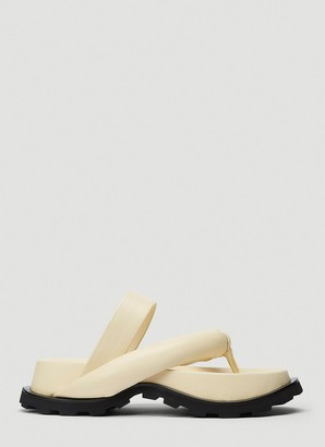 Jil Sander Slip-On Sandals