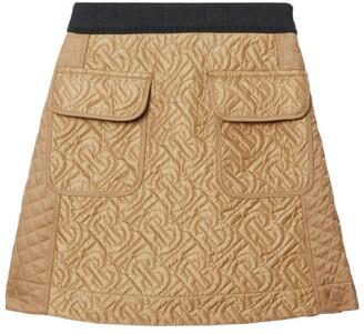 Burberry Kids TB Monogram A-Line Skirt (3-12 Years)