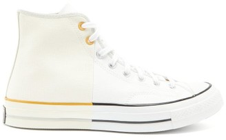 Converse Chuck 70 Two-tone High-top Canvas Trainers - White