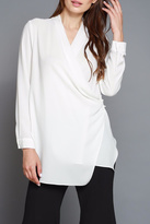 Do & Be Cross Front Blouse