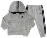 adidas Boys' Athletics Hoodie Jacket & Jogger Set - Little Kid