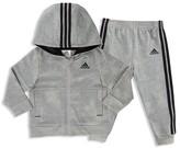adidas Boys' Athletics Hoodie Jacket & Jogger Set - Sizes 2T-3T