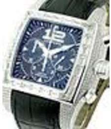 Chopard Two O Ten Blue Arabic-Index Dial Black Alligator Leather Automatic Men's Luxury Watch