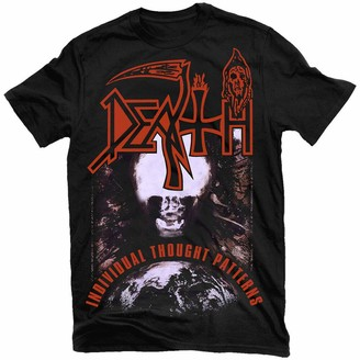 Deyang Death Individual Thought Patterns T-Shirt New! Relapse Records TS4230 Black